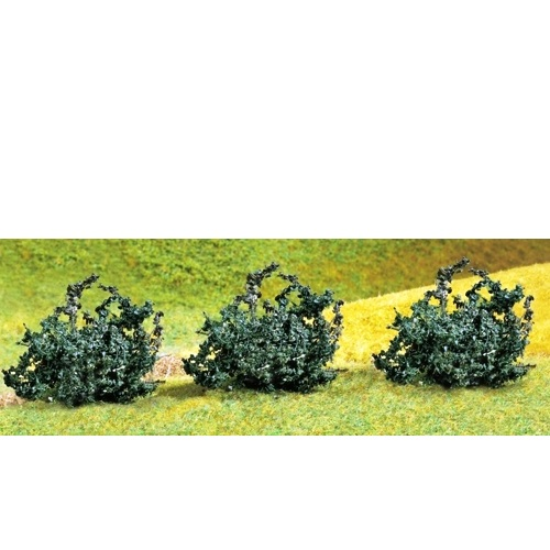 Faller 181230 - Premium Green Bushes (Pack of 3) - 00 Gauge