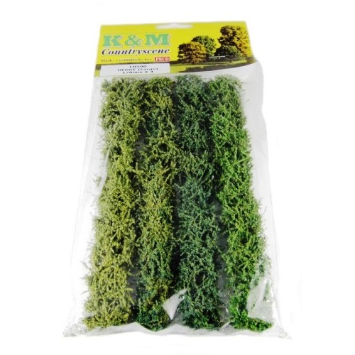 K&MLH500 - Large Hedge 4 Pieces - 00 Gauge