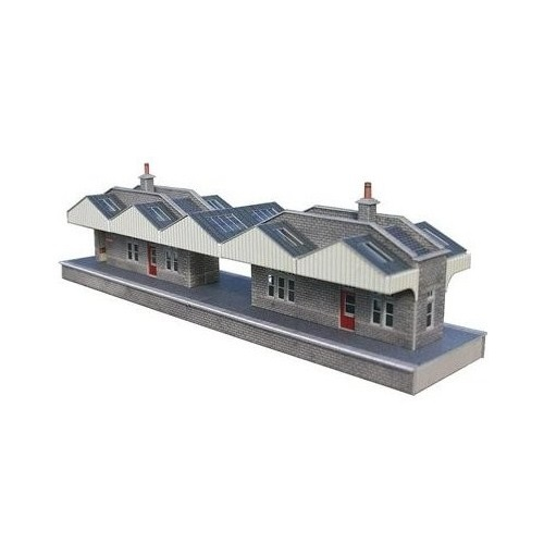 Metcalfe PO234 - Island Platform Building - 00 Gauge