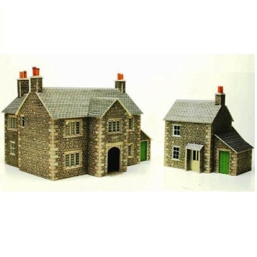 Metcalfe PO250 - Manor Farm House - 00 Gauge