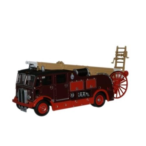 Oxford Diecast 76REG002 Newcastle and Gate Fire Engine  AEC Regent III - (1.76)