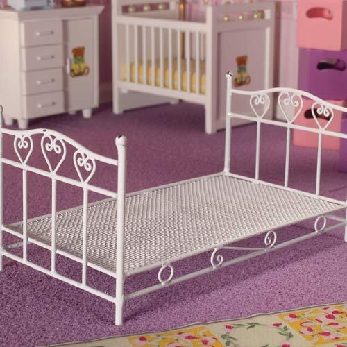 4399 - Pretty Hearts Single Bed