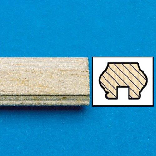7024 - Unvarnished Lightwood Handrail