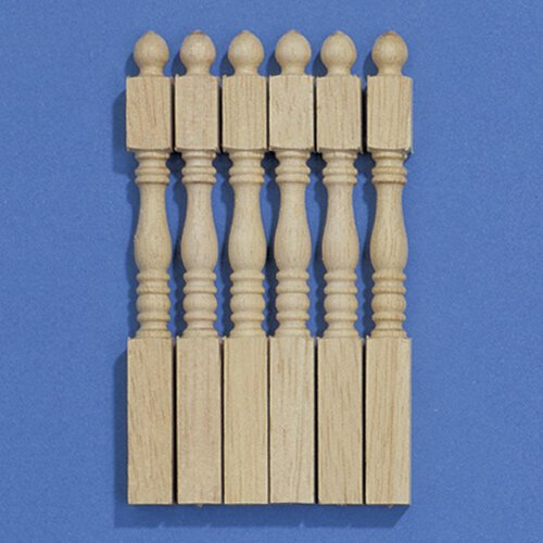 7267 - Tapered Newel Posts, 6 pieces