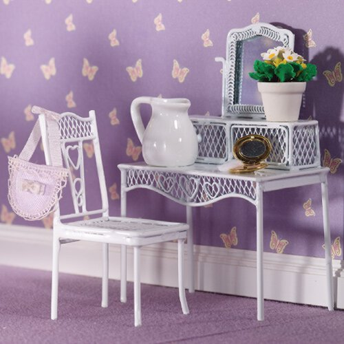 4382 - Pretty Hearts Dressing Table