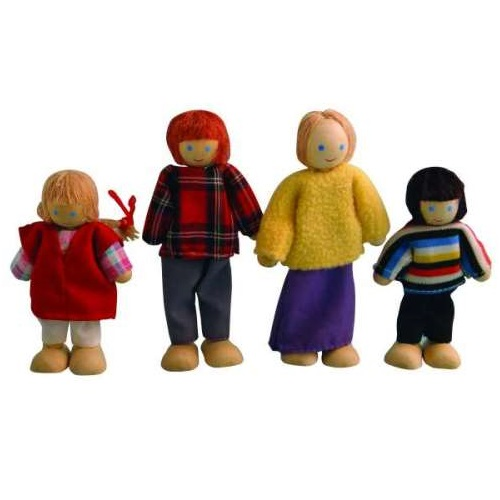 DCP003 - Family of 4 Dolls