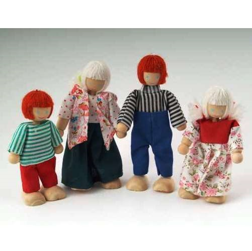 DCP004 - Family of 4 Dolls