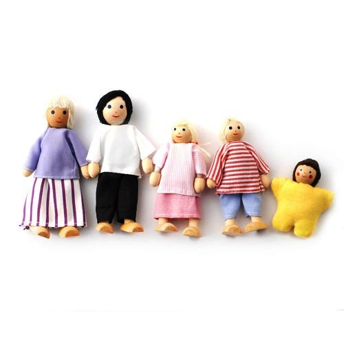 DCP005 - Family of 5 Dolls