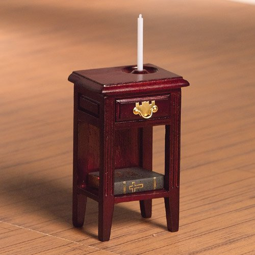 4078 - Bedside Table & Candle Holder (M)