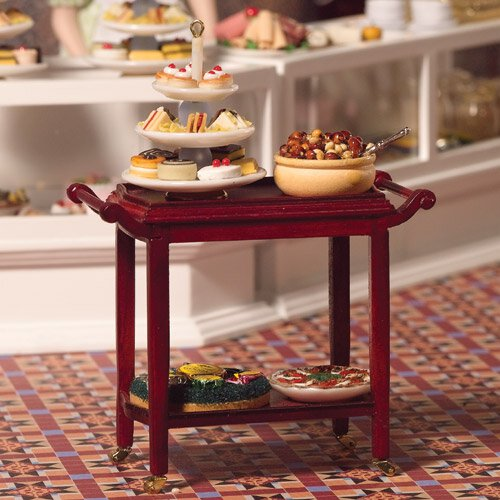 4205 - Two-tiered Serving Trolley (M)