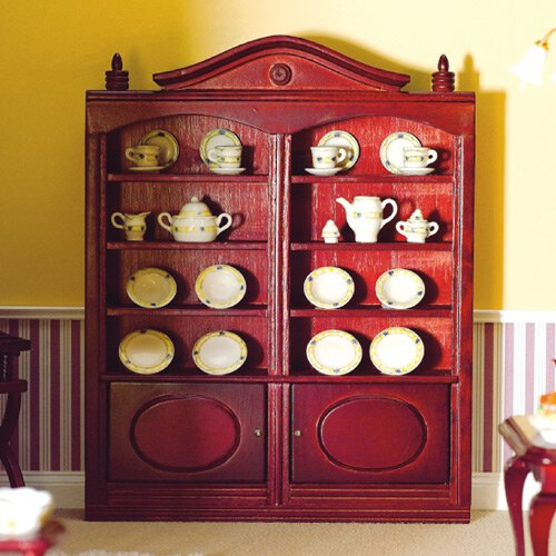 6735 - Bookcase with Cupboards (M)