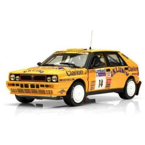 Sun Star SS3121 -  Lancia Ddelts HF Intergale 16V  racing no. 14, P Eklund & B Cederberg, Lombard Rally 1990  (1.18)
