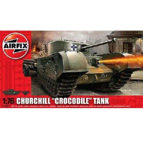 Airfix 02321 - Churchill Crocodile Tank - 1.76