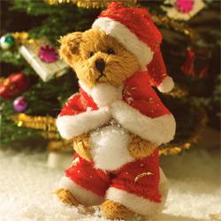 4773 - Teddy in Santa Suit