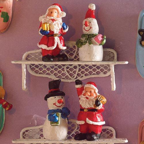 4790 - Festive Figurines, 4 pcs
