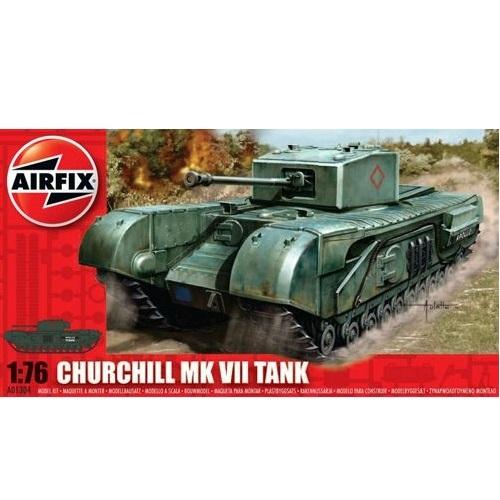 Airfix 01304 - Churchill Mk V11 Tank - 1.76