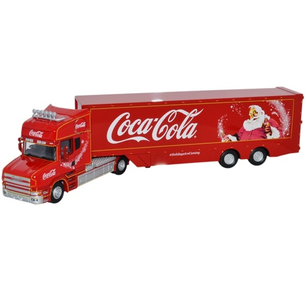 Oxford Diecast TCAB004CC - Scania TCab - Coca Cola 1.76