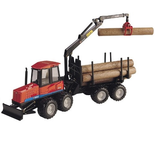 Joal 273 - Sisu Valmet 860 Log Skidder - Scale 1.35