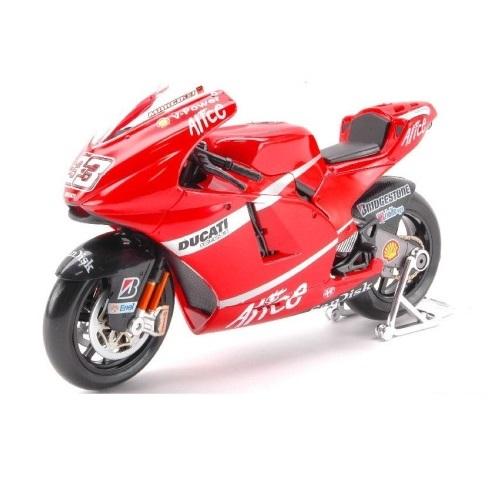 Maisto 31163M - Ducati Desmosedici Moto GP (2008) - Marco Melandri - Scale 1.10