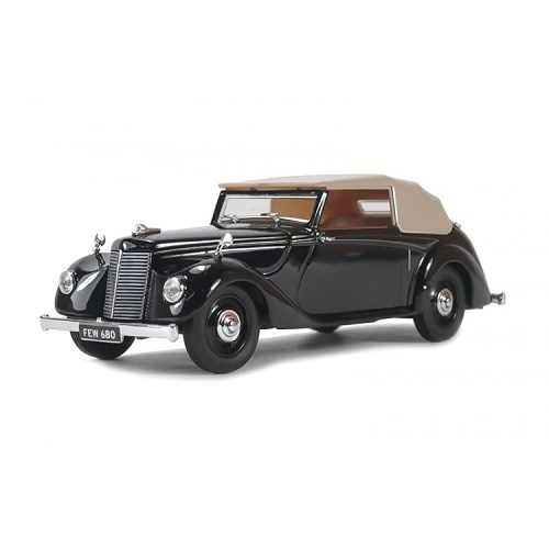 Oxford ASH004 - Armstrong Siddeley Hurricane Closed Black - 1.43