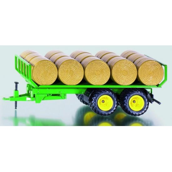 SIKU 2891 Trailer with Round Bales - Scale 1.32