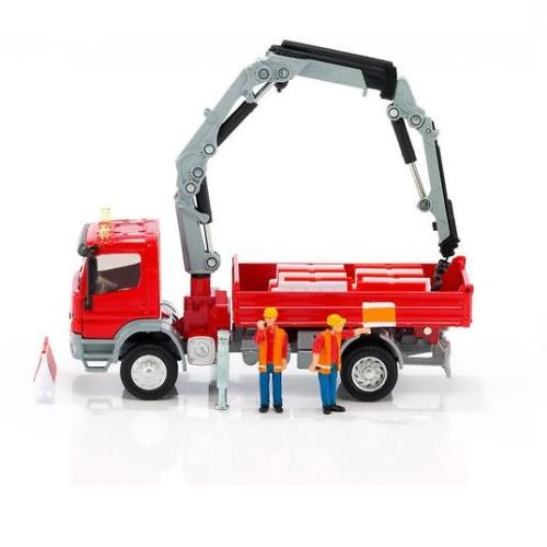 Siku 3534 - Mercedes Atego with Crane - 1.50