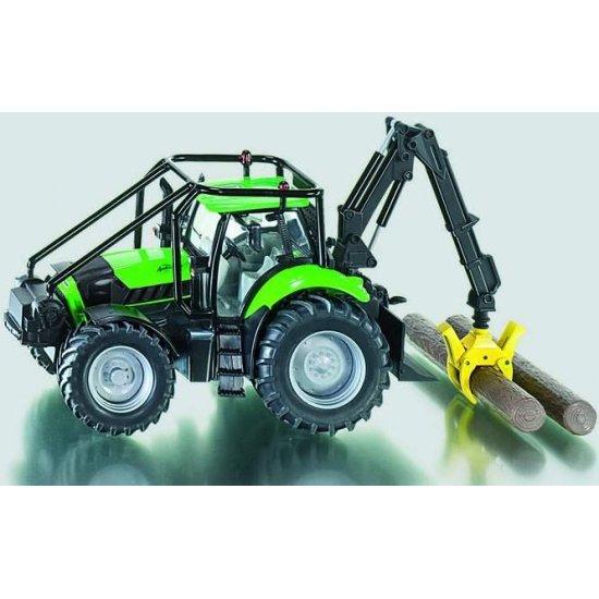 Siku 3657 - Deutz Agrotron Forrestry Tractor