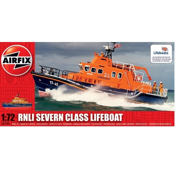 Airfix 07280 - RNLI Severn Class Lifeboat - Scale 1.72