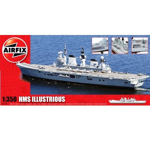 Airfix 14201 - H.M.S. Illustrious - Scale 1.350a