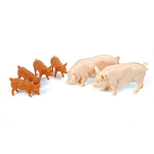 Britains 40966 - LARGE WHITE PIGS   1-32
