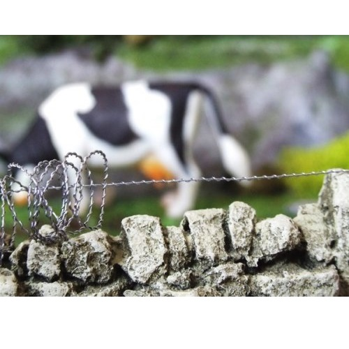 FB040 - Barbed Wire Fence
