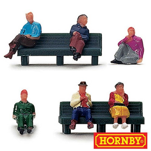 Hornby R561- People Sitting 00 Gauge