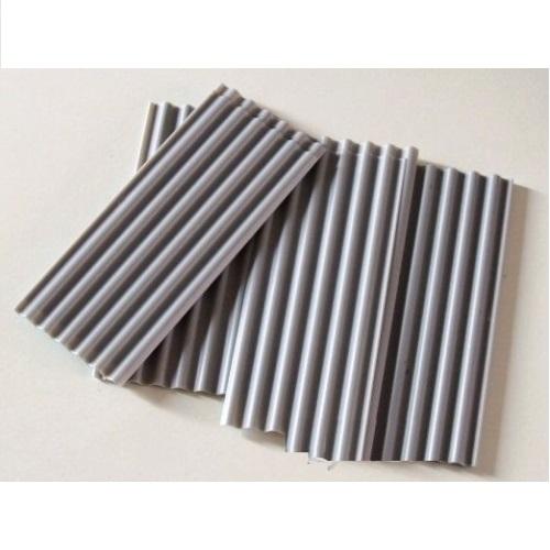 Juweela 23246 - 15 x Grey Corrugated Roofing Sheets