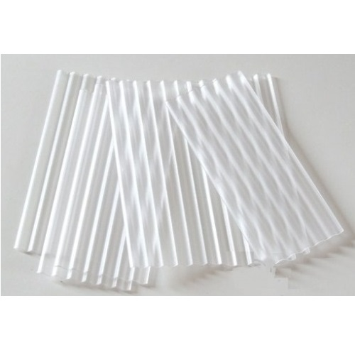 Juweela 23258 - 30 x Clear Corrugated Roofing Sheets