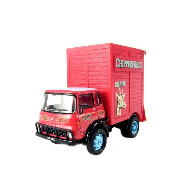 Oxford 76CH005 - Bedford TK Giraffe truck in Chipperfields Circus livery - Scale 1.76