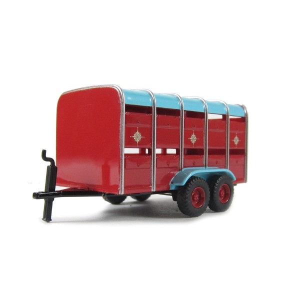Oxford 76CH031 - Chipperfield Livestock Trailer