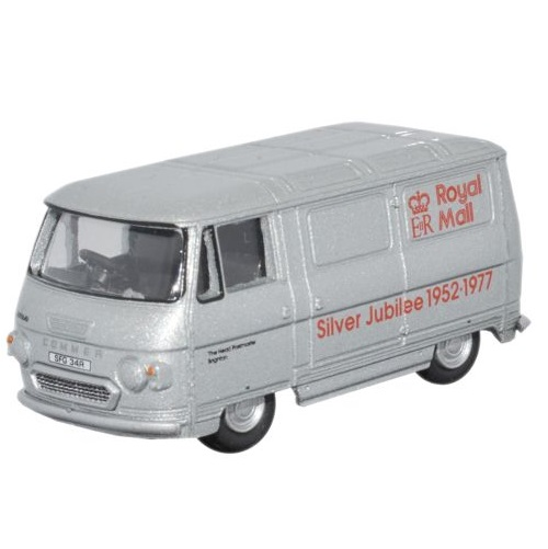 Oxford 76PB003 - Commer PB Van - Royal Mail(Silver Jubilee)