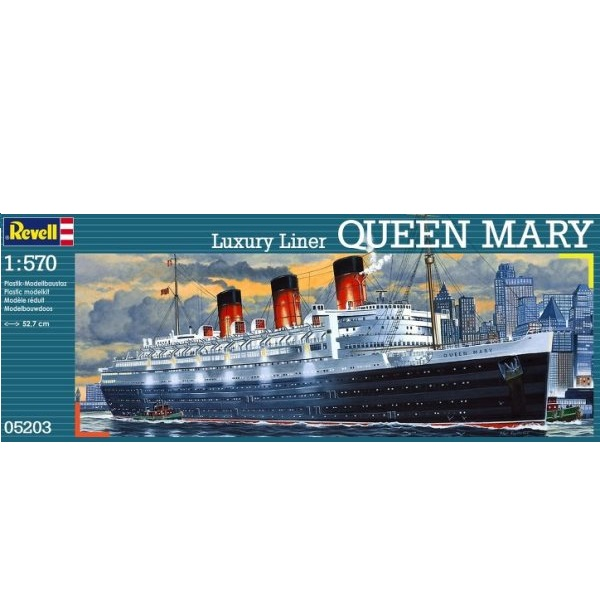 Revell 05203 - Queen Mary Luxury Liner - 1.570