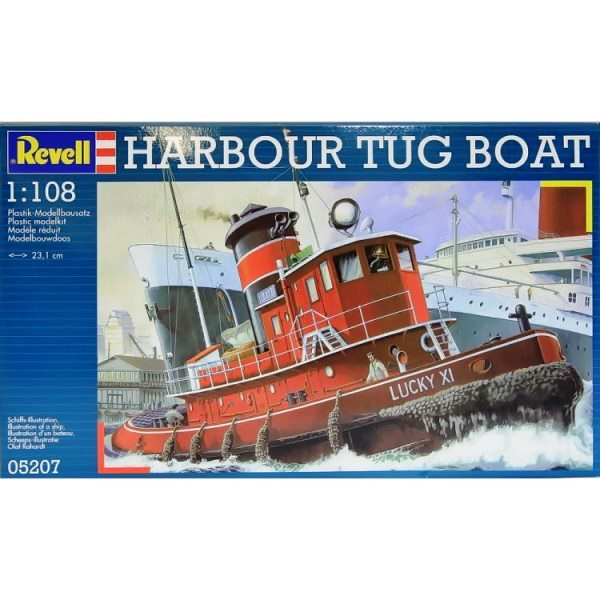 Revell 05207 - Harbour Tug Boat -  Scale 1.108