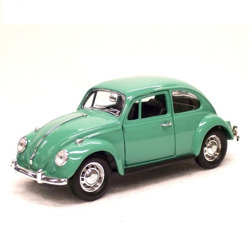 Road Signature 24202 - Volkswagen Beetle 1967 - Green - 1.24