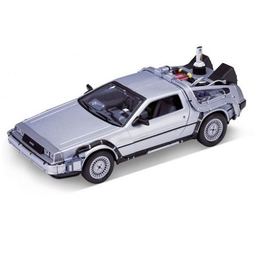 Welly 22441 - DeLorean - Back to the Future.