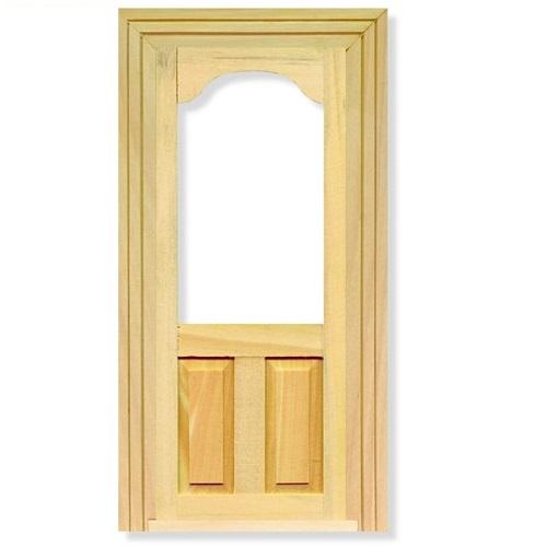 Dolls house panel door window opening 1 12 rb for 12 panel door