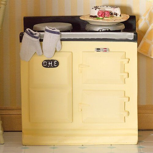 Furniture 2942 - Cream Aga Type Stove