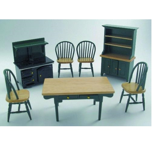 DF897 - Green Kitchen Set