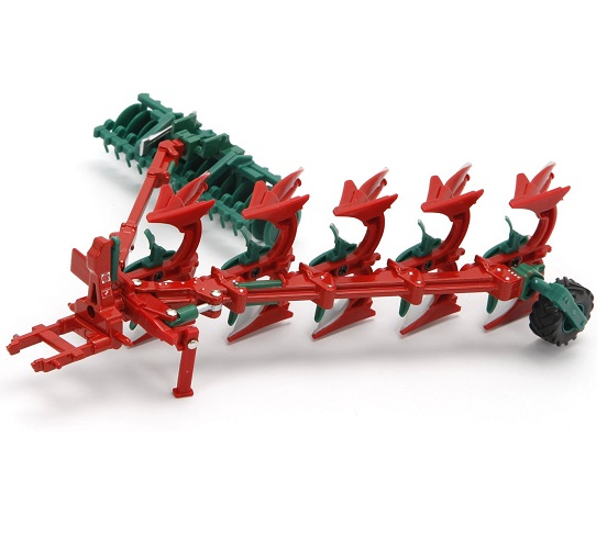 Britains 43049 - Kverneland Plough and Pakomat