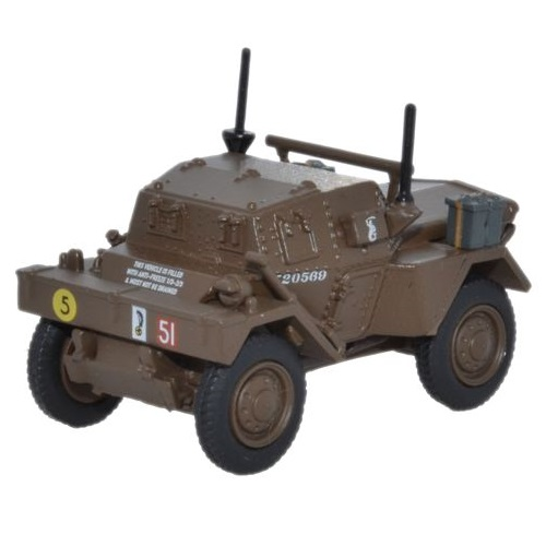 Oxford Diecast 76DSC002 - Dingo Scout Car 10th Mounted Rifles 10th ACB Polish