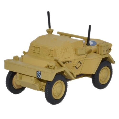 Oxford 76DSC003 - Dingo Scout Car HQ 2nd Div _ El Alamein 1942