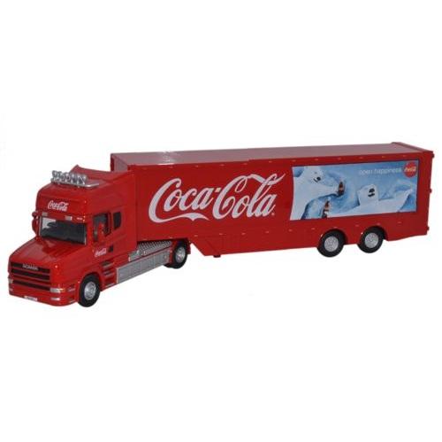 Oxford Diecast 76TCAB005CC - Scania TCab - Coca Cola - Polar Bears