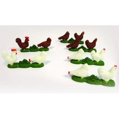 Britains 42812 - Chickens - Scale 1.32