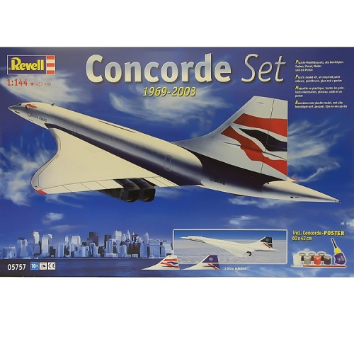 Revell 05757 - Concorde Gift Set - Scale 1.144